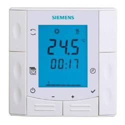 Siemens RDE410 Fali  kötődobozba építhető fűtési termosztát