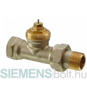 Siemens VDN120 egyenes termosztatikus radiátorszelep