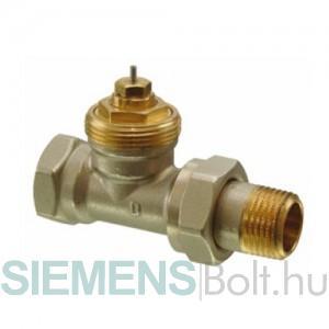 Siemens VDN210 egyenes termosztatikus radiátorszelep