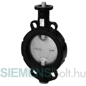 Siemens VKF46.40 Pillangószelep fém- EPDM zárással DN 40