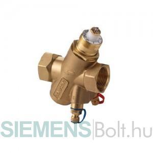 Siemens VPI45.15F0.5Q Dinamikus térfogatáram szabályozó szelep mérőcsonkkal DN15