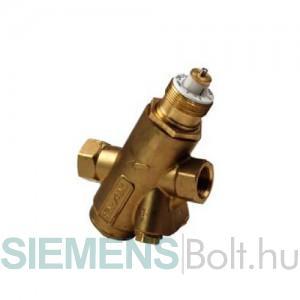 Siemens VPI45.20F0.9 Dinamikus térfogatáram szabályozó szelep mérőcsonk nélkül DN20