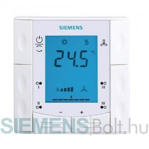 Siemens RDF 301.50 Fali kötődobozba telepíthető Fan-coil termosztát