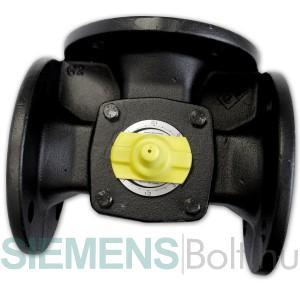 Siemens VBF21.100 Keverőcsap karimás háromjáratú DN 100 kvs 160