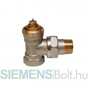Siemens VEN215 sarok termosztatikus radiátorszelep