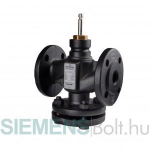 Siemens VVF32.40-16 Egyutú karimás szabályozószelep PN10, Szelepszár DN40, kvs 16