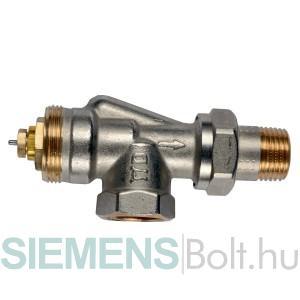 Siemens VUN210 axiális termosztatikus radiátorszelep