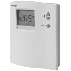 Siemens RDF110 elektronikus fan-coil termosztát LCD kijelzővel