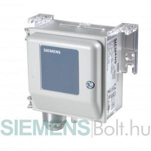 Siemens QBM2030-5 nyomáskülönbség távadó 0...500 Pa