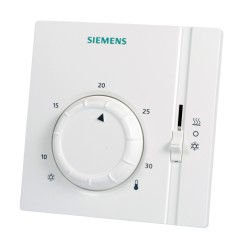 Siemens RAA41 Helyiségtermosztát fűtési és hűtési alkalmazásokhoz