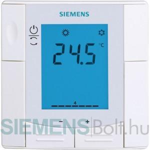 Siemens RDU340 Félig beépített helyiséghőmérséklet szabályozó LCD-kijelzővel VAV alkalmazásokhoz