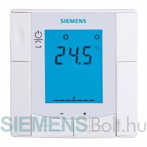 Siemens RDU341 Félig beépített helyiség termosztát KNX kommunikációval, VAV alkalmazásokhoz