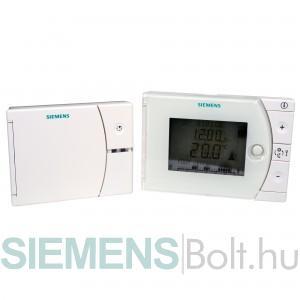 Siemens REV24RFDC/SET Rádiófrekvenciás termosztát szett elemes tápellátással és vevőegységgel