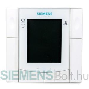 Siemens RDF300.02 Süllyesztett szerelésű helyiséghőmérséklet szabályozó