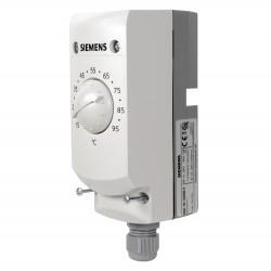Siemens RAK-TR.1000B-H Hőmérséklet szabályozó merülő csőtermosztát 15...95°C