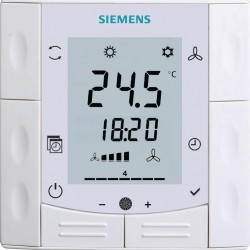 Siemens RDF600T Süllyesztett szerelésű szobatermosztát + ajándék kötődoboz