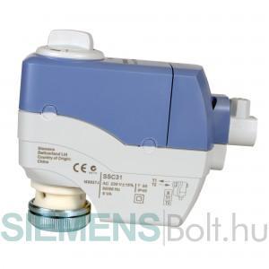 Siemens SSC31 Elektromotoros szelepmozgató