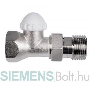 Siemens VD125CLC termosztatikus radiátorszelep nagy Kv-értékkel
