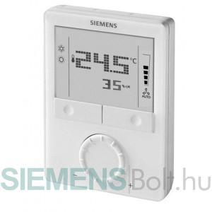Siemens RDG165KN Szobatermosztát  fan-coilokhoz