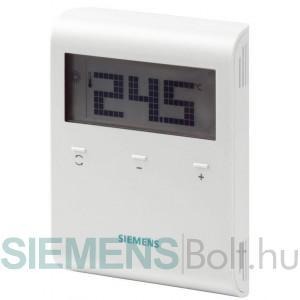 Siemens RDD100.1RF Szobatermosztát vezeték nélküli kivitel