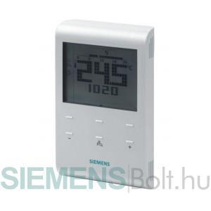 Siemens RDE100.1 heti programú elemes szobatermosztát