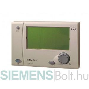 Siemens RMZ792 KNX buszos kezelőterminál max. 150 db Synco 700-as készülék helyi vagy távkezeléséhez