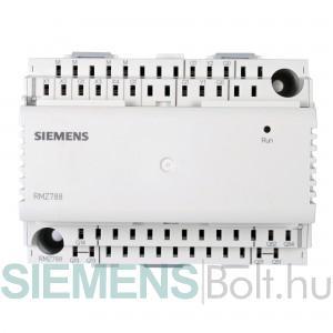 Siemens RMZ787 Kiegészítő modul RMH.., RMU.., RMK.., RMS.., RMB.. szabályozókho