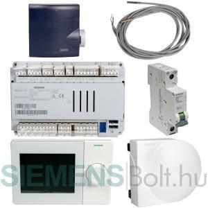 Siemens Albatros 2.1B Időjárásfüggő fűtésszabályozó készlet