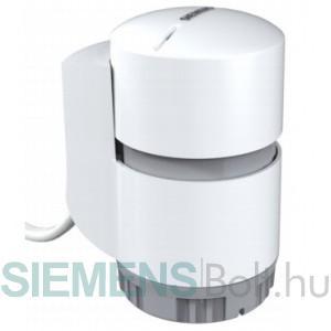 Siemens STP63 Termoelektromos szelepmozgató motor  0-10V NO 2 m kábelhossz