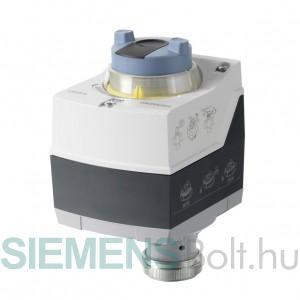 Siemens SAS31.00 Elektromotoros szelepmozgató AC 230 V tápfeszültség, 3-pont vezérlőjel