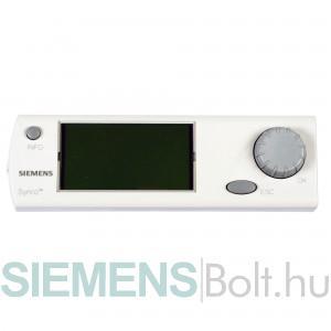 Siemens RMZ790 Kezelőterminál 1db Synco700-as készülékhez