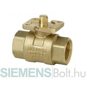 Siemens VAI60.15-15 Egyutú golyóscsap belső menetes csatlakozással DN15, kvs 15m3/h