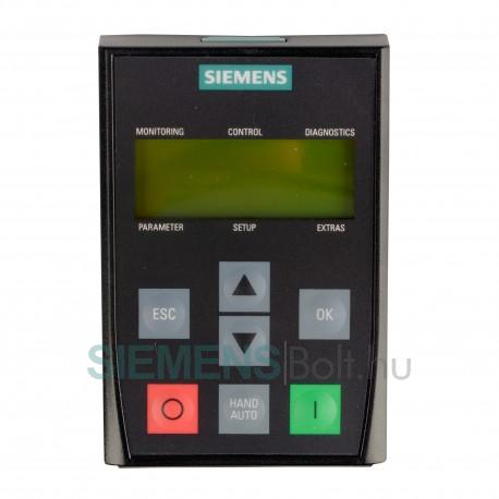Siemens G120P-BOP-2 Vezérlő egység