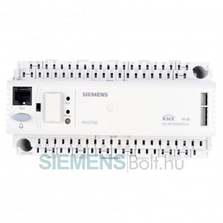 Siemens RMS705B Synco700 vezérlő, logikai és monitoring eszköz, KNX kommunikációval
