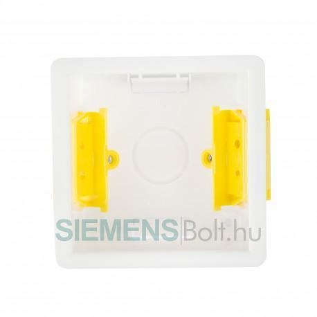 Fali kötődoboz Siemens RDF..típusú süllyesztett kivitelű termosztátokhoz