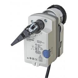 Siemens GSD161.9A Elektromotoros forgatómotor rugós visszatérítés nélkül golyós csapokhoz, 2 Nm, 30s AC24V DC0-10V
