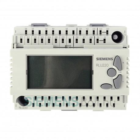 Siemens RLU220 Univerzális szabályozó, 1 szabályozási kör, 2 analóg kimenet