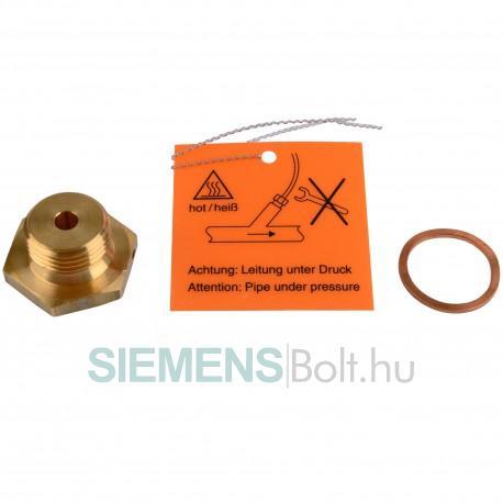 """Siemens Átalakító adapter direkt merülési érzékelőhöz (28-38-45 mm érzékelőkhöz) M10 x 1-G 1/2"""""""