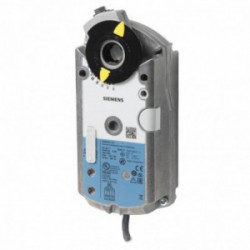 Siemens GEB161.1E Zsalumozgató motor, rugós visszatérítés nélkül, 15 Nm, AC 24 V, DC 0...10 V, forgó