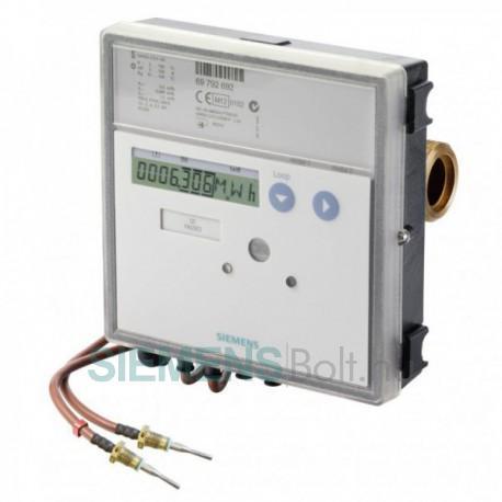 """Siemens UH50-A36-00 Qn:2,5m3/h 130mm b. hossz, PN16, NA20 G1"""" menetes csat, Hűtés-Fűtés alk, (UH50-2.5 elem és kieg. nélkül!)"""