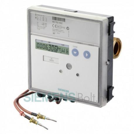 """Siemens UH50-C50-00 Qn:6m3/h 260mm b. hossz, PN16, NA25 G1 1/4"""" menetes csat, Hűtés-Fűtés alk, (UH50-6HF elem és kieg. nélkül!)"""