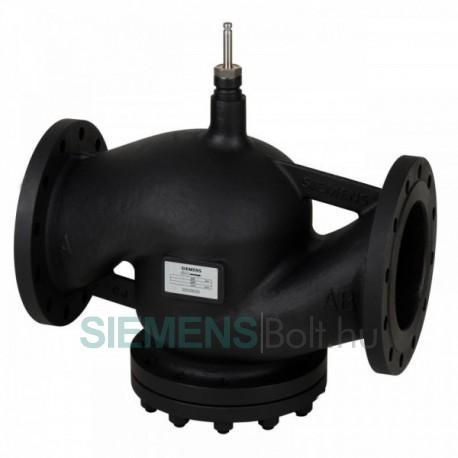 Siemens VVF43.250-630K Nyomás kompenzált egyutú karimás szabályozószelep. PN16. Szelepszár elmozdulás:40mm, DN250, kvs:630m3/h