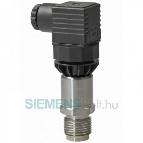 Siemens Nyomástávadó, 0…6 bar, 0…10V, folyadék/gáz közeghez, IP65