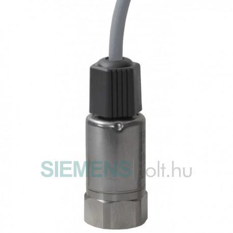 Siemens Nyomástávadó, -1…24 bar, 4…20mA,, hűtőközeghez, IP67