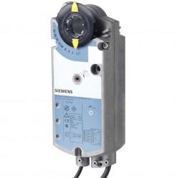 Siemens GGA326.1E/12 2-pont szabályozású tűzvédelmi zsalumozgató AC 230 V,18 Nm, 90/15 s