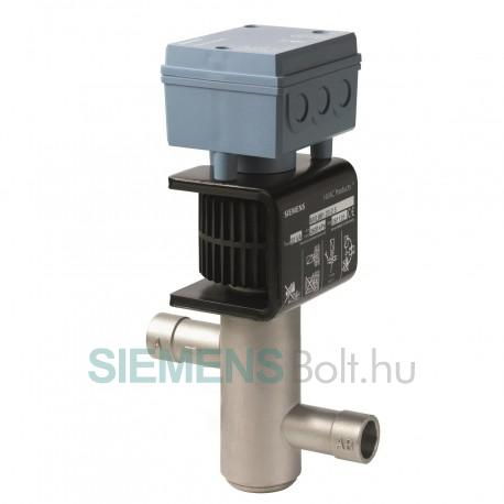 Siemens MVL661.15-0.4 Hűtőközeg szelep PN 40, DN 15, kvs 0.4, AC/DC 24 V