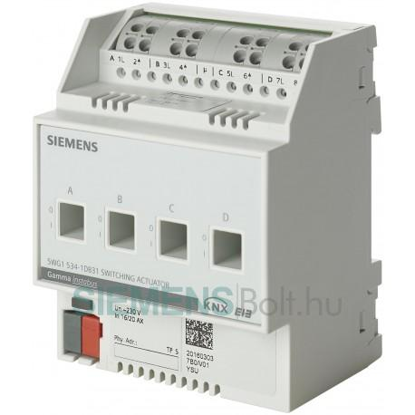 Siemens 5WG15341DB31 SWITCHING ACTUATOR N534D31
