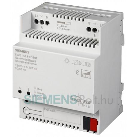 Siemens 5WG15281DB01 UNIVERSAL DIMMER N 528D01 2 X 300VA