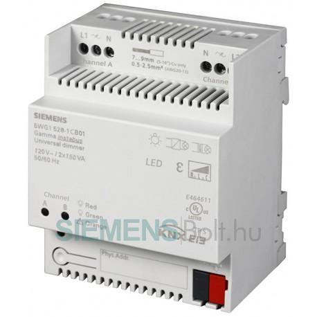 Siemens 5WG15281CB01 Universal dimmer N 528C01 2x150VA 120V