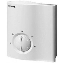 Siemens RLA162 Synco100 helyiséghőmérséklet-szabályozó 2 x DC 0…10 V kimenet hűtés / fűtés 24 VAC